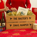 Personalised Large Christmas Gift Crate