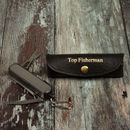 Fishing Tool And Leather Holder For Dads