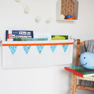 Cotton Book Sling Storage - whatsnew