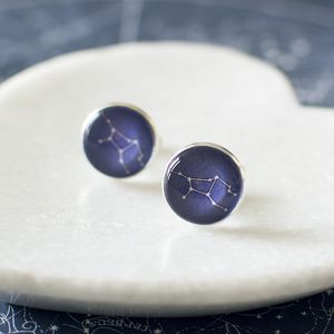 Virgo Constellation Zodiac Cufflinks - cufflinks