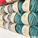 Gifts For Knitters: Chunky Wool Merino Yarn 100g Balls