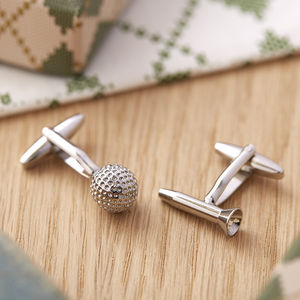 Golfers Cufflinks - men's accessories