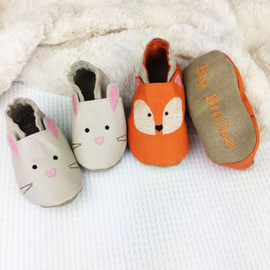 Sibling Set Woodland Slippers - clothing