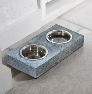 Granite Dog Bowl Set - kitchen