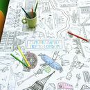 Colour In London Tablecloth *Personalise It Option