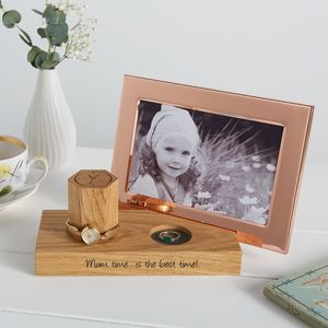 Bedside Watch And Photo Frame Stand For Her - picture frames