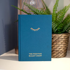 The Positive Bullet Diary - gifts for friends