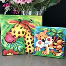 Children's Animal Canvas Prints