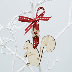 Squirrel Christmas Decoration