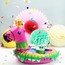 Colourful Pinata Inflatable Cup Holder