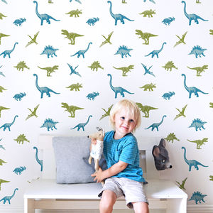 Dinosaur Wallpaper Effect Stickers