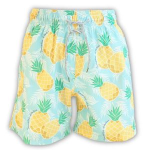 Men's Pineapple Swim Shorts - men's fashion