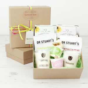 Mum's Ultimate 'Survival Box' - bath & body sets