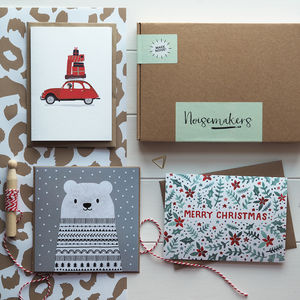 Christmas Cards Stationery Box - christmas stationery