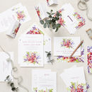 Secret Garden Wedding Stationery Sample Pack
