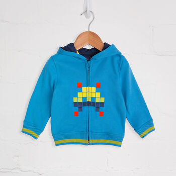 Turquoise Space Invader Tracksuit