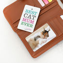 Personalised Pet Double Sided Wallet Photo Cards