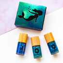 Mermaid Nail Polish Gift Set Low Toxic Polish