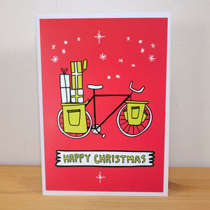 Bike Christmas Card