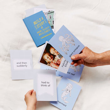 Personalised Build A Story Card Set