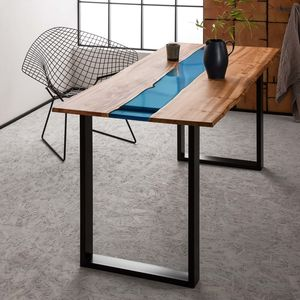 Resin River Dining Table - kitchen