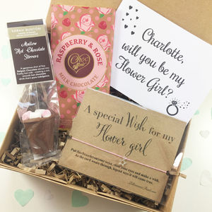 Will You Be My Flower Girl Gift Box - be my flower girl