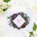 Floral Meadow Thank You Card