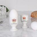 Set Of Two Lordship And Ladyship Egg Cups