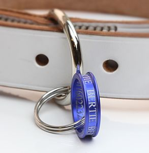 Pet ID Tag Ring - pet tags & charms