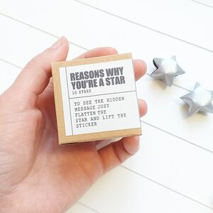 Origami 'Reasons Why You're A Star'