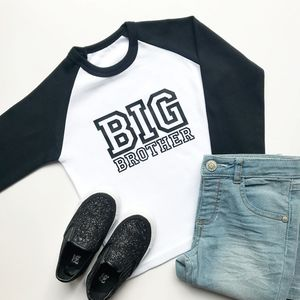 Big Brother Raglan Top