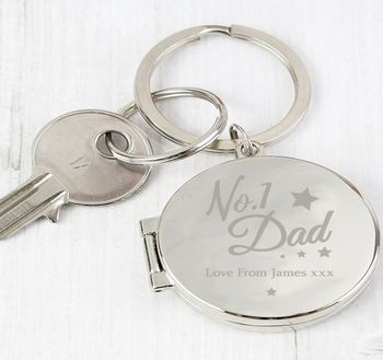 Personalised Dad Key Ring