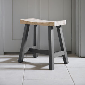 Clockhouse Stool In Two Sizes - living room