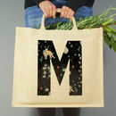 Personalised Fantasy Initial Jute Bag
