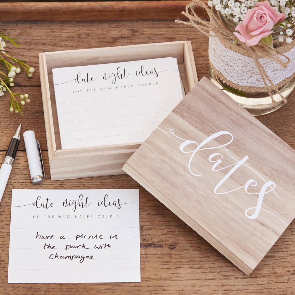 Alternative Wedding Guest Book Ideas: Date Night Ideas Alternative Wedding Guest Book By The