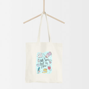 All You Sew Is Love Sewing Tote Bag