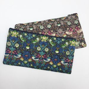 Liberty Print Zip Pouch Pencil Case - pencil cases