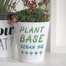 Plant Base Vegan Hq Planter With Seeds