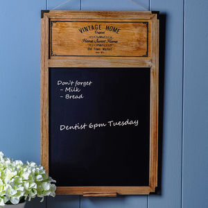 Vintage Home Blackboard - noticeboards