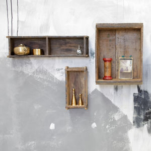 Reclaimed Brick Box - storage