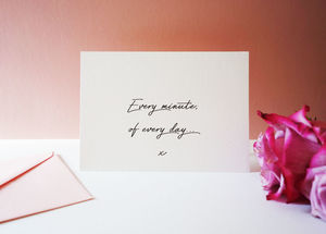 Luxury Love Valentine's Card - cards for long-term loves