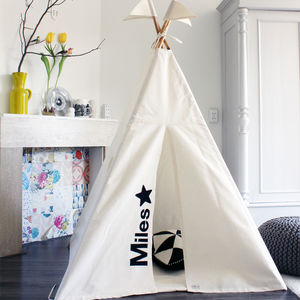 Personalised Indoor Play Teepee Midi - personalised
