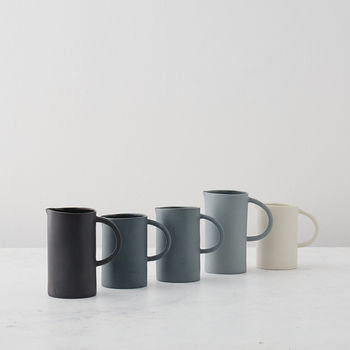 Small Greyscale Spectrum Jug