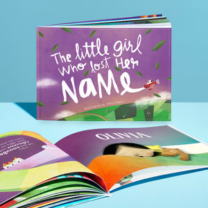 Personalised Children's Story Book - new baby gifts
