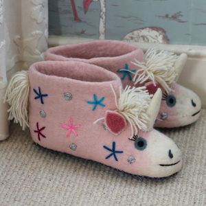 Adult Céleste The Unicorn Slippers