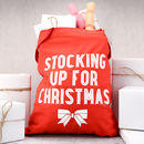 Stocking Up For Christmas Tote Bag