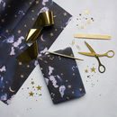 Eco Friendly Celestial Stardust Gift Wrap Set