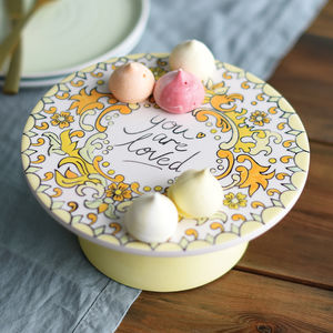 'You Are Loved' Pottery Painting Set - cake stands