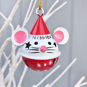 Christmas Personalised Mouse Decoration
