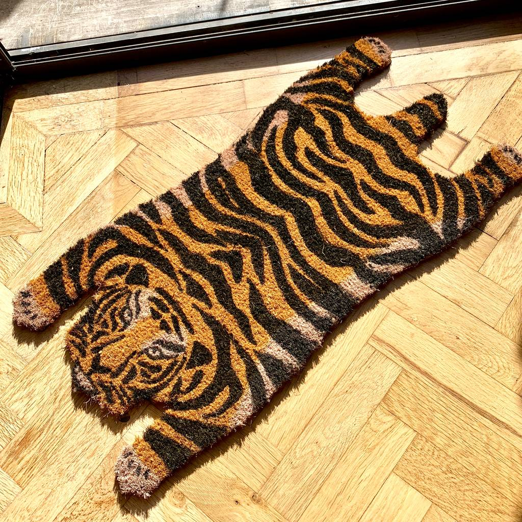Tiger Doormat By London Garden Trading